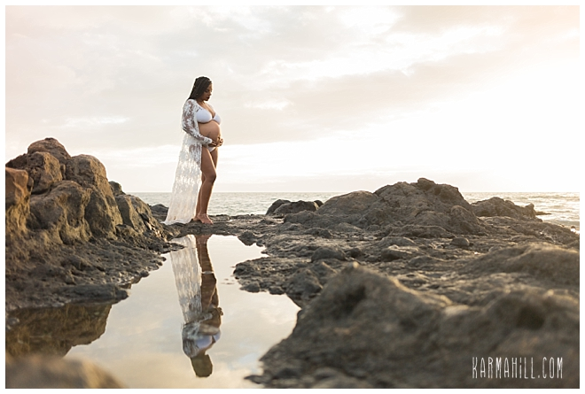 Maui Maternity Portrait