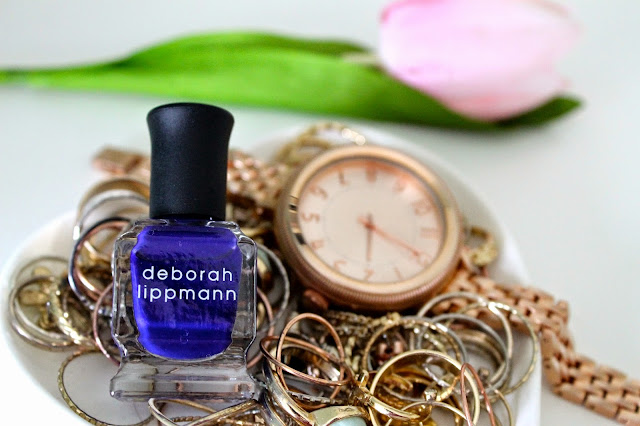 Deborah Lippmann Big Blue Note Nail Polish