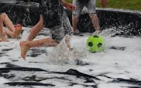 zeep voetbal