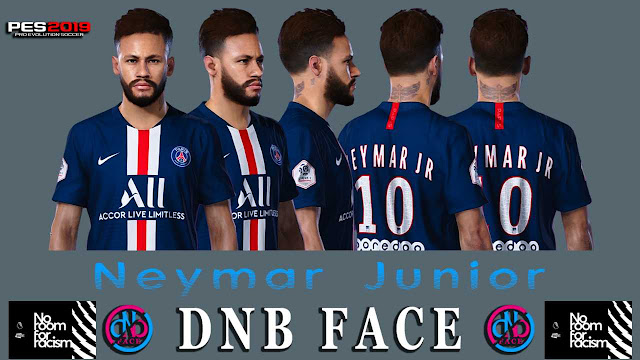PES 2019 - PES 2020 Neymar New Hair Style 2019 by DNB