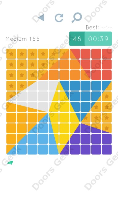 Cheats, Walkthrough for Blocks and Shapes Medium Level 155