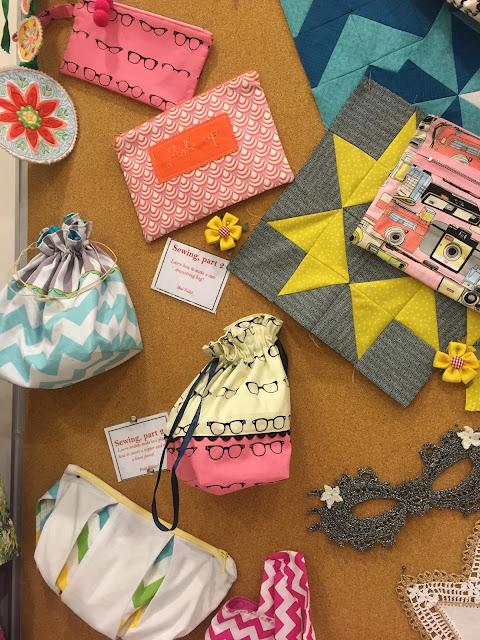 Venture & Roam: Craftland Project Samples, sewing samples, sewing projects, sewing for beginners