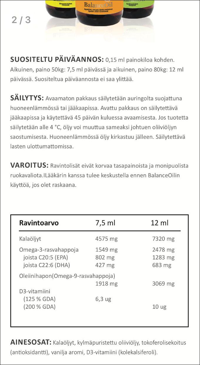 Zinzino Balance Oil kokemuksia - ÄITI YRITTÄÄ