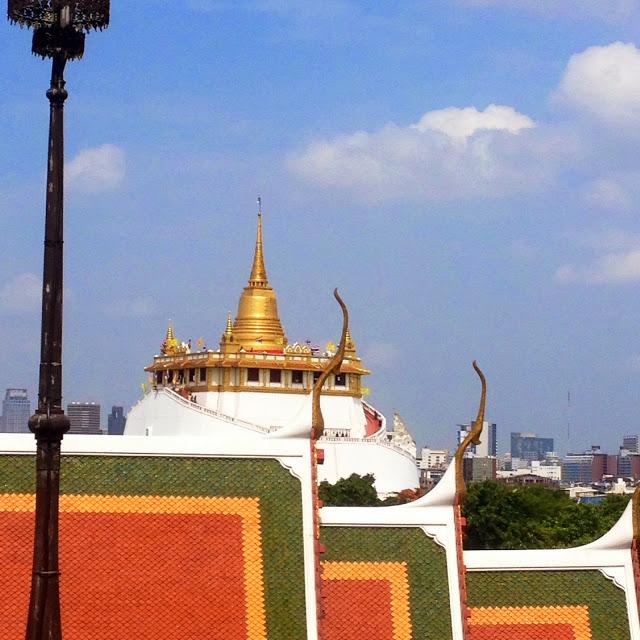 Wat Saket, or the Temple of the Golden Mount, Bangkok