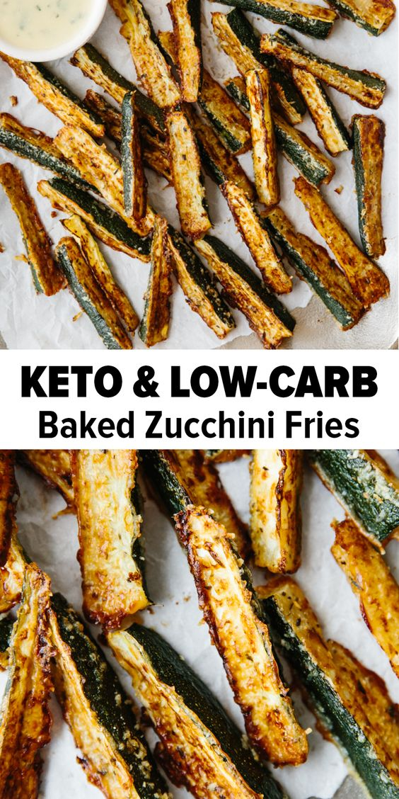 Easy Baked Zucchini Fries Recipe