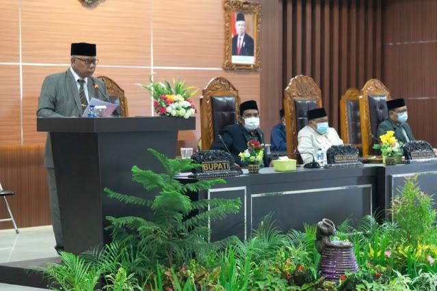 DPRD Lombok Timur gelar Rapat Paripurna XI masa sidang III 2021