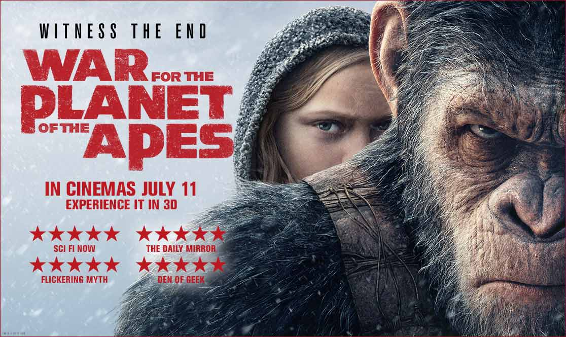 Review Film War For The Planet Of Apes (2017)
