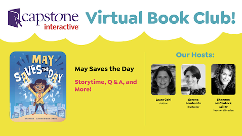 It's Episode 5 of the Capstone Virtual Book Club!  You Will LOVE