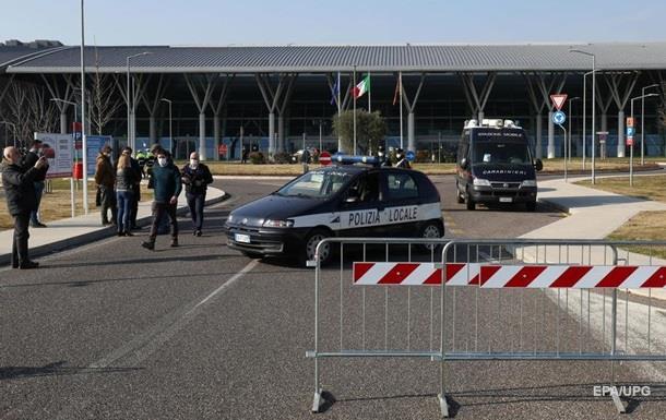 Коронавірус: Італія закрила на карантин 12 міст