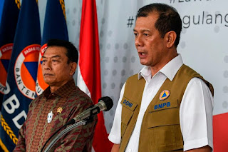 Kepala Badan Nasional Penanggulangan Bencana
