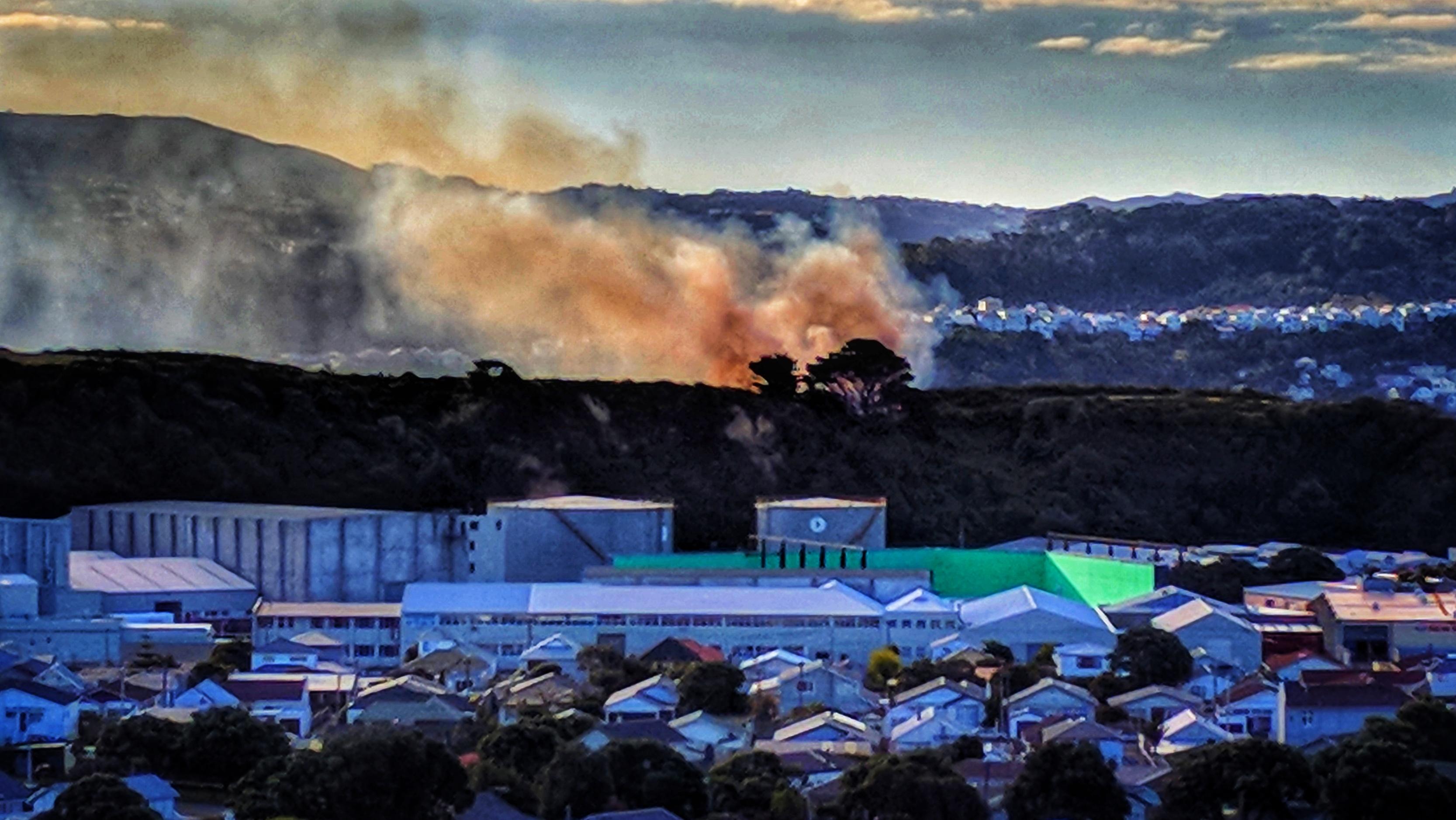 Fire as seen from Miramar
