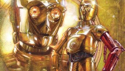 El origen del brazo de rojo de C-3PO