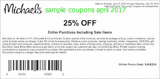 Michaels coupons april 2017