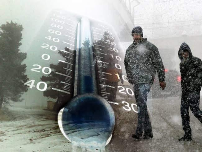 Χειμωνιάτικο σκηνικό σήμερα με χιόνια, κρύο και τοπικές βροχές