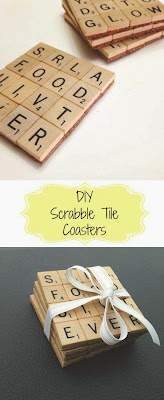 Home Crafts by Ali 2015 craft DIY scrabble tile coasters