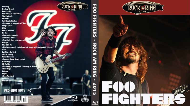 Blurayliveconcert Foo Fighters Rock Am Ring 2015