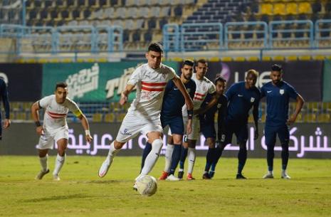 taroudantpress   أشرف بنشرقي يقود الزمالك لفوز صعب على إنبي في الدوري المصري تارودانت بريس
