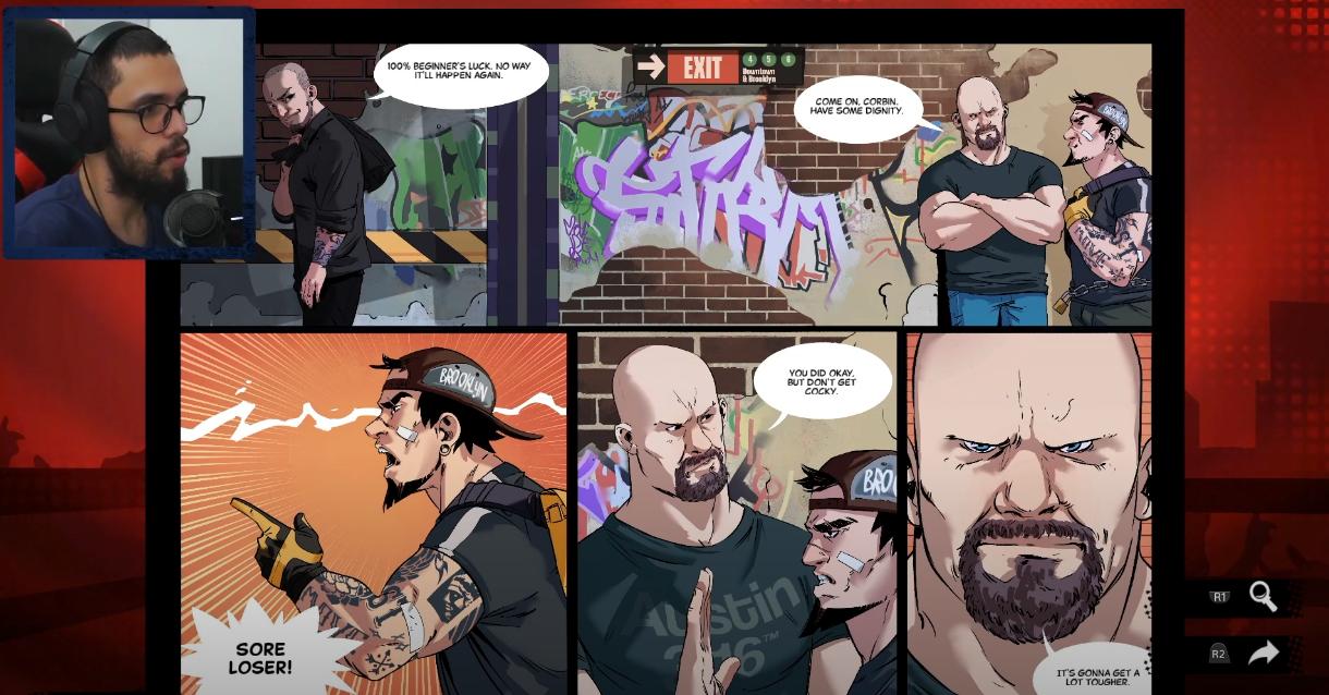 WWE 2K Battlegrounds: Modo história #1