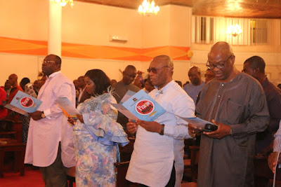 Obasanjo Joins Dickson in Prayer, Praise and Worship Session in Yenagoa  …Gov Dickson Calls For Prayers For Peace, Unity, Stability of Nigeria