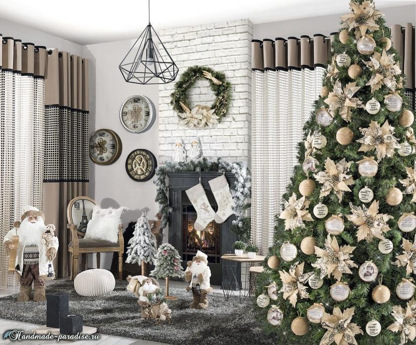 Красивый дизайн интерьера к Рождеству (4)