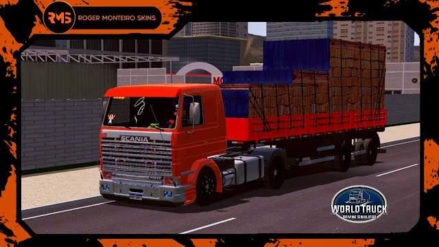 Scania, Scania V8, V8, Skins World Truck, Skins Wtds, Skins, Qualificado