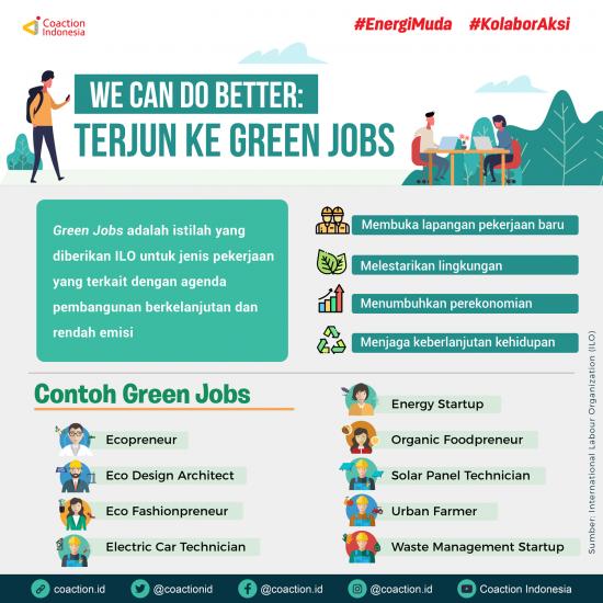 Green Jobs: Peluang Kerja Nyata Untuk Indonesia Lebih Bersih