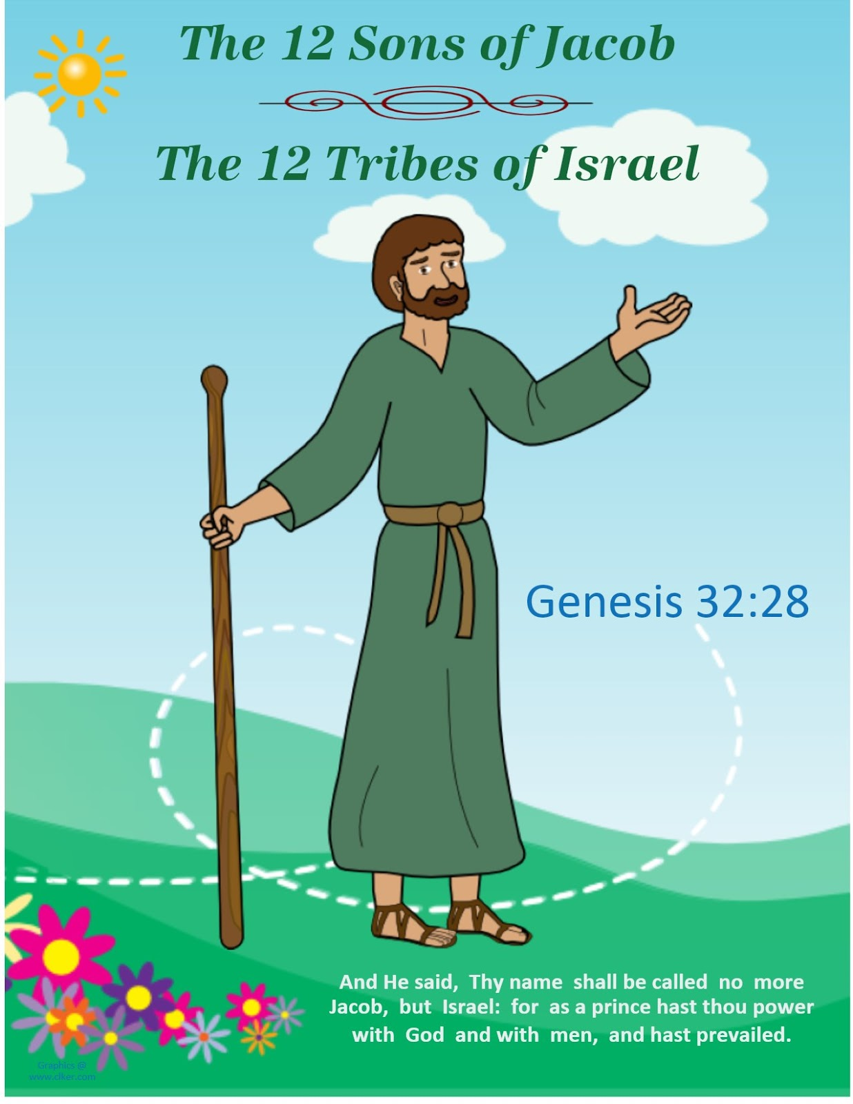 Bible Fun For Kids Genesis Jacob Amp His Family