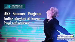27th & 28th AKS Summer Program: Kuliah Singkat di Korea Selatan