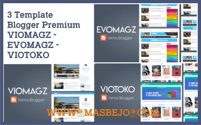 Bisnis Template Blogger Premium
