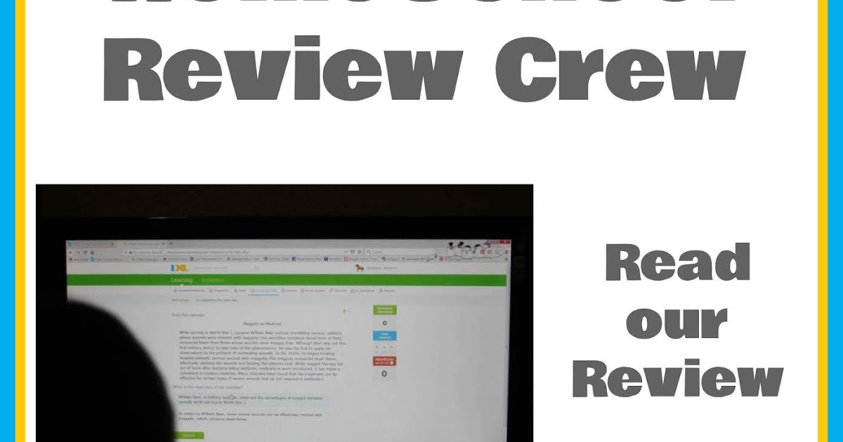IXL Learning {Homeschool Crew Review}
