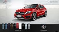 Mercedes AMG GLA 45 4MATIC 2015 màu Đỏ Jupiter 589