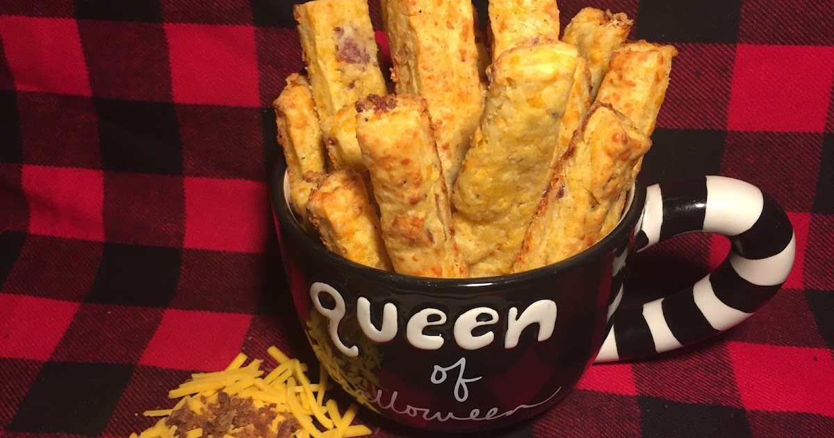 Bacon and Cheddar Cheese Straws