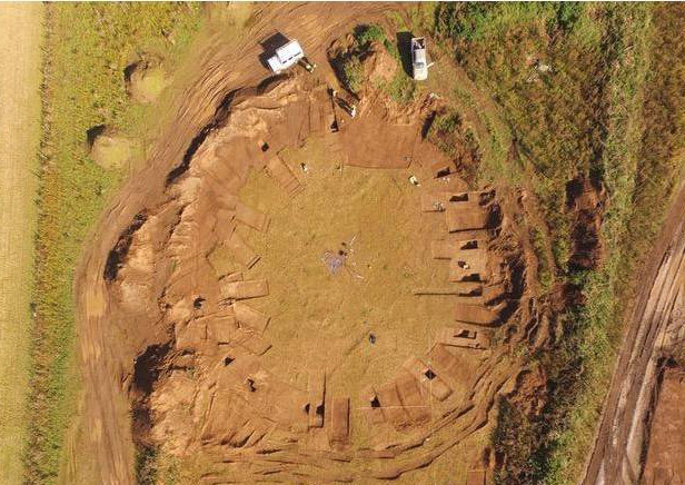 4,000-year-old 'woodhenge' found in Yorkshire