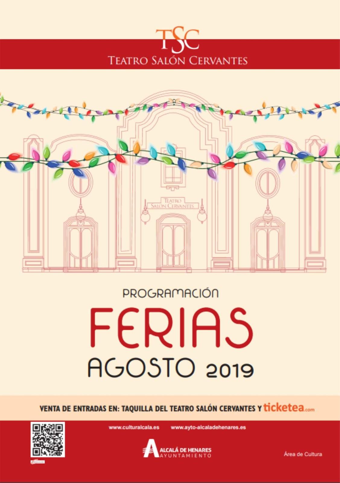 Ferias Y Fiestas Alcalá De Henares 2019 Teatro En Ferias