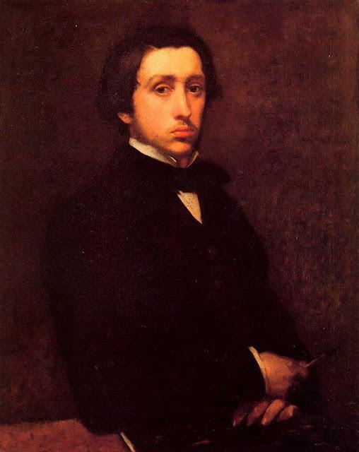 Эдгар Дега - Автопортрет (1855)