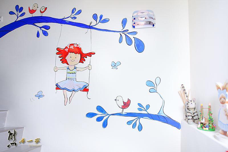翔飛點心小棧民宿|甜蜜公主風房型&國際插畫家童趣創作藝術