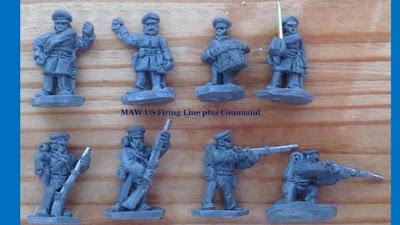 MAWUS9 - US Firing Line & MAWUS10 - US Firing Line Command