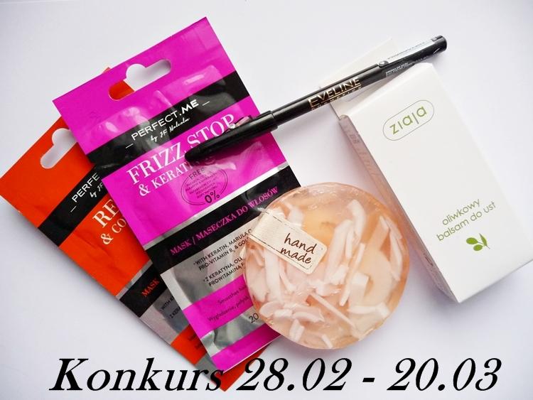 konkurs rozdanie kosmetyczne blogerka konkurs