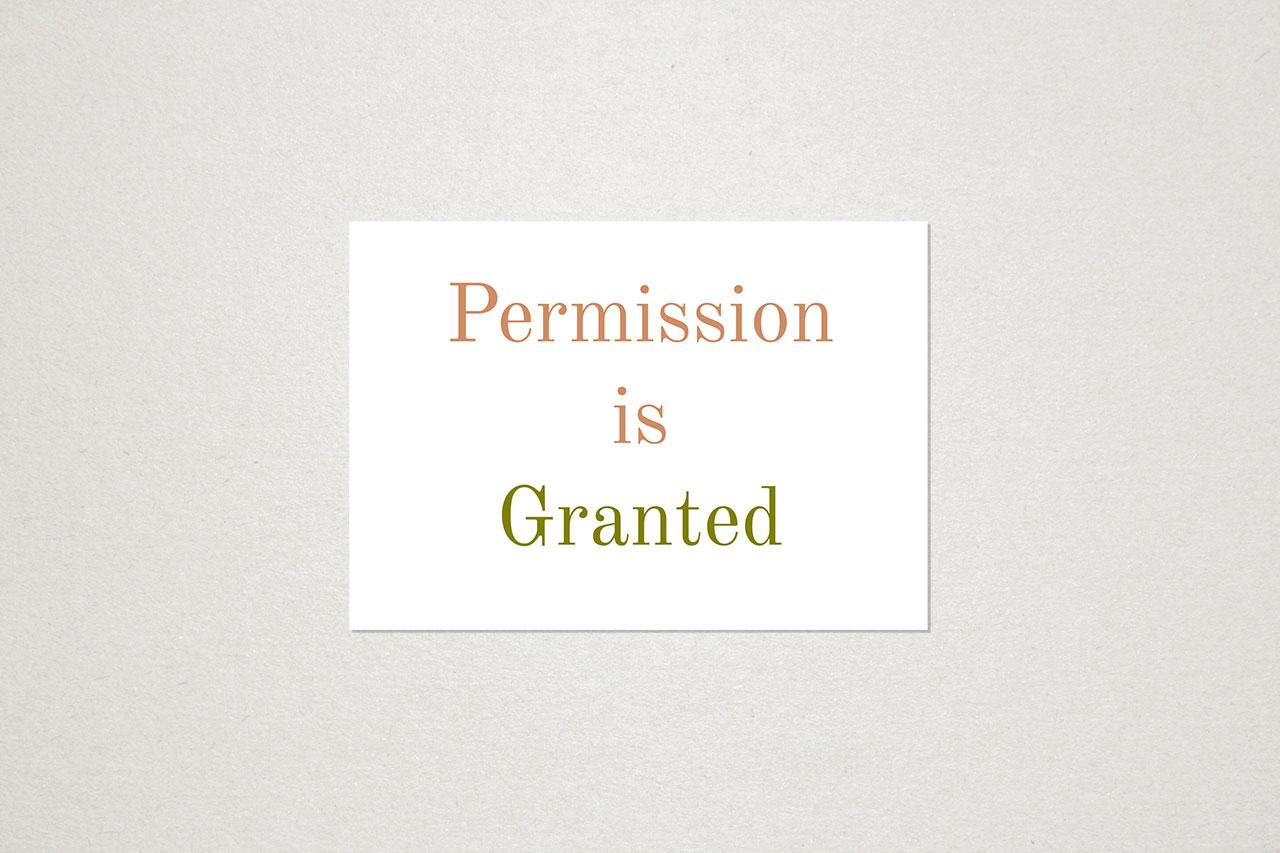Permission is Granted © Graeme Walker 2020