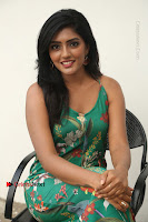 Actress Eesha Latest Pos in Green Floral Jumpsuit at Darshakudu Movie Teaser Launch .COM 0178.JPG