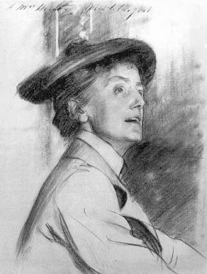 John Singer Sargent: Ethel Smyth in 1901