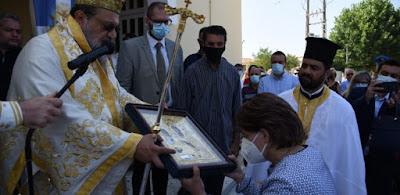 Λαμπρός ο εορτασμός της Πολιούχου Φοινικούντας Παναγίας Τριχερούσας