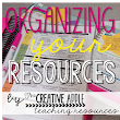 Organize Your Teaching Resources!