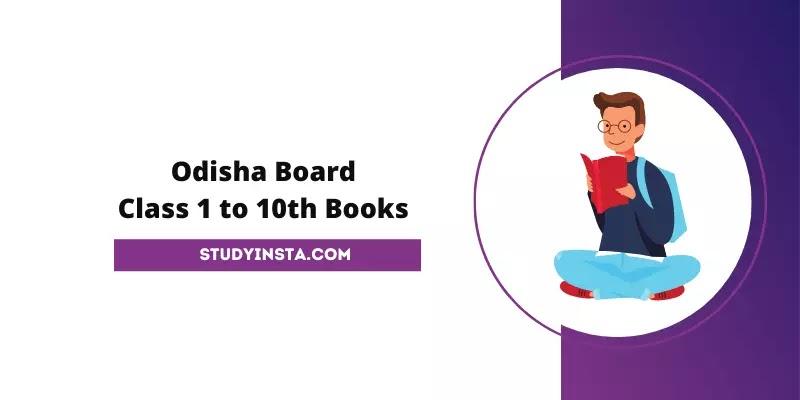 Odisha Board Books