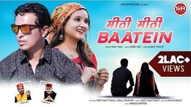 Meethi Meethi Baatein mp3 Song download   Honey Negi ~ Gaana Himachali
