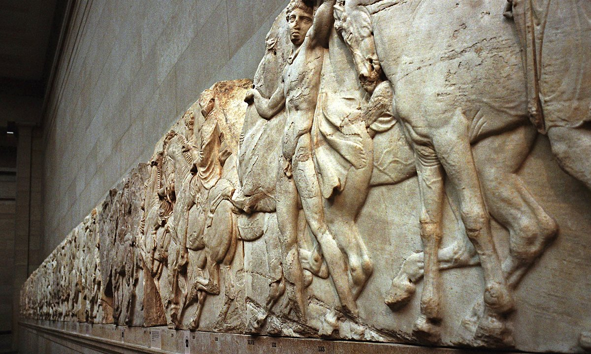 Britain Has Kept The Elgin Marbles For 200 Years Now