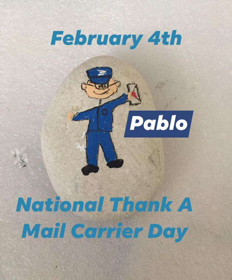 National Thank a Mail Carrier Day Wishes Unique Image