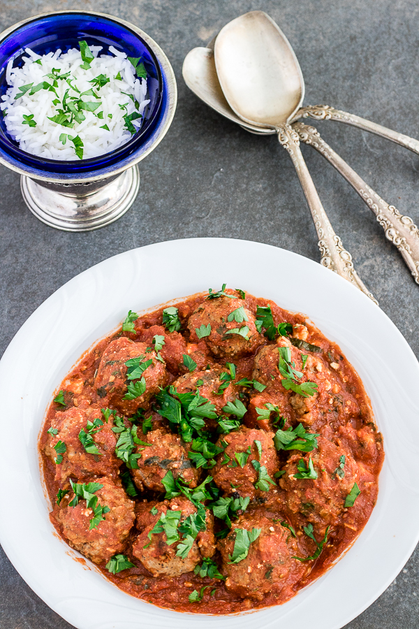 Chicken Feta Meatballs