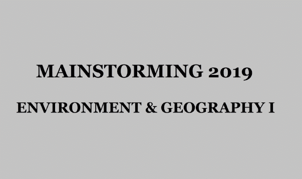 Environment & Geography I - Download pdf